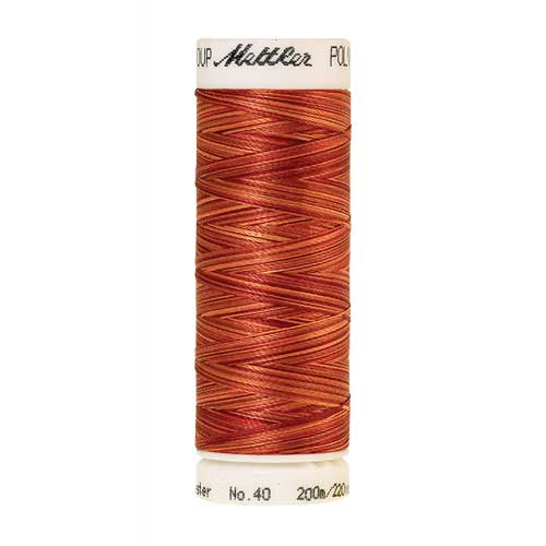 9934 - Fire Flames  Poly Sheen Multi Thread